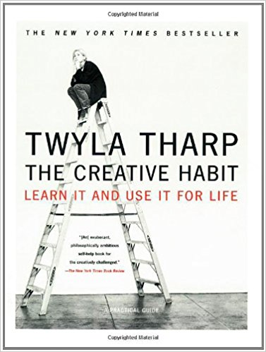 The Creative Habit - Twyla Tharp book cover