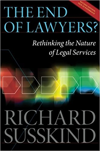 The End of Lawyers? - Richard Susskind book cover