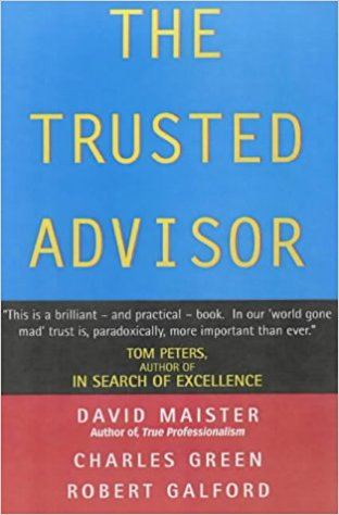 The Trusted Advisor - David Maister book cover